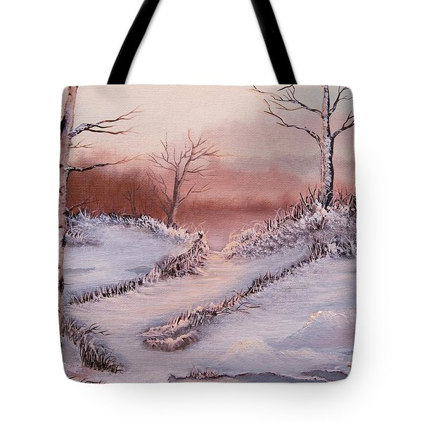 Silver Birch 2 Tote Bag