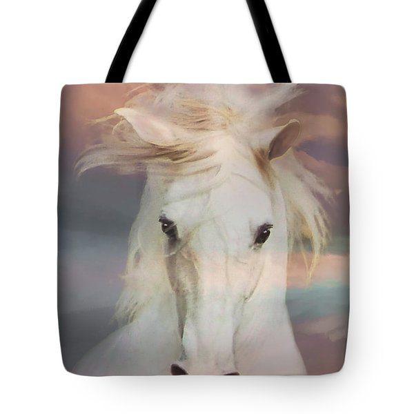 Silver Boy Tote Bag
