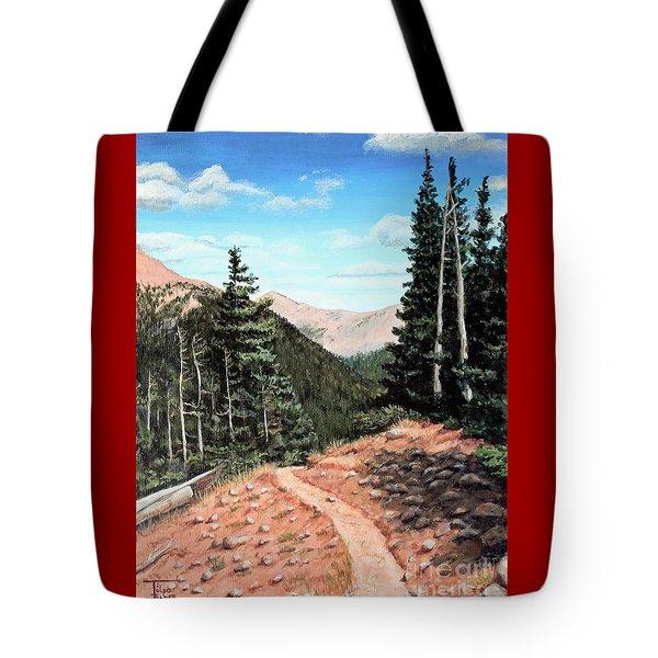 Silver Dollar Trail Colorado Tote Bag