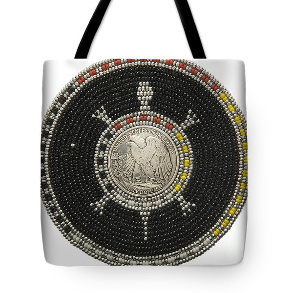 Silver Eagle Tote Bag