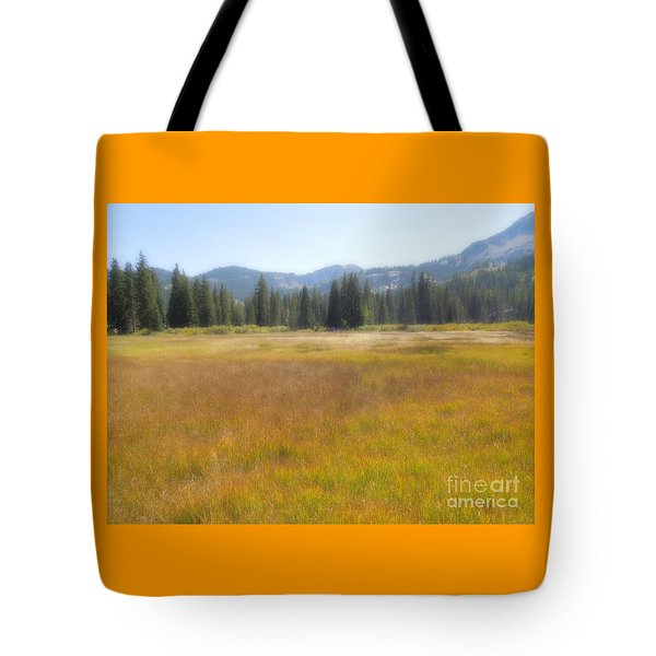 Silver Lake Area Big Cottonwood Canyon Utah Tote Bag