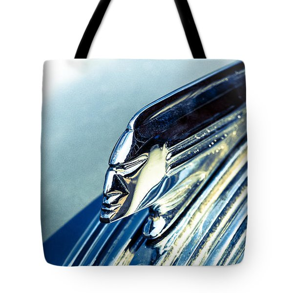 Profile In Chrome II Tote Bag by Caitlyn  Grasso