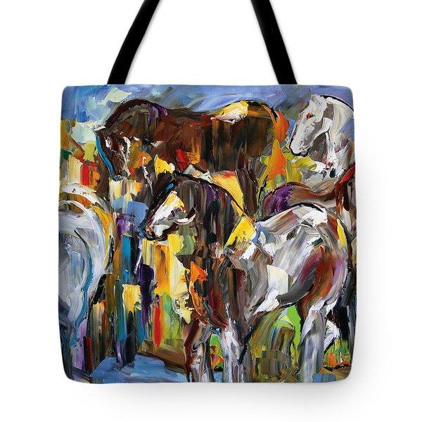 Silver's Gang Tote Bag