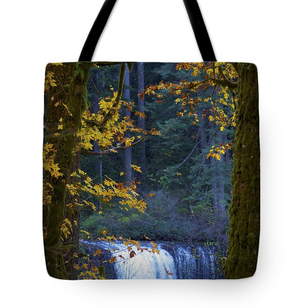 Silverton Falls Oregon Tote Bag