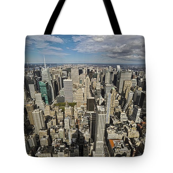 Tote Bag featuring the photograph Sim City by Mihai Andritoiu