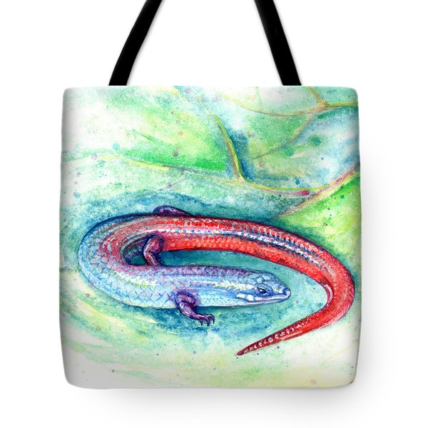 Tote Bag featuring the painting Simon by Ashley Kujan