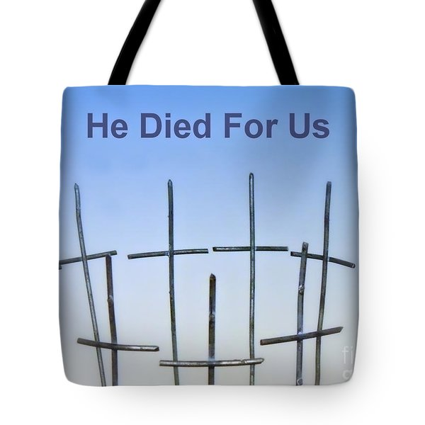Simple Cross Tote Bag by Renee Trenholm