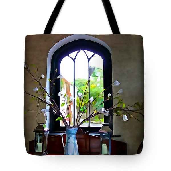 Tote Bag featuring the photograph Simple Elegance by Charlie and Norma Brock