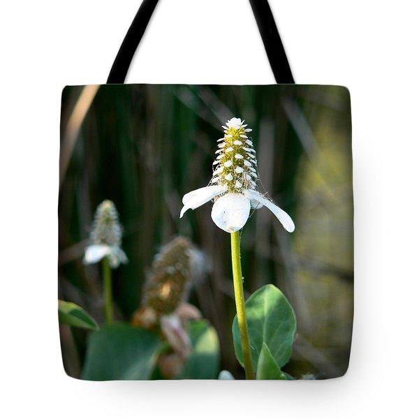 Simple Flower Tote Bag by Laurel Powell