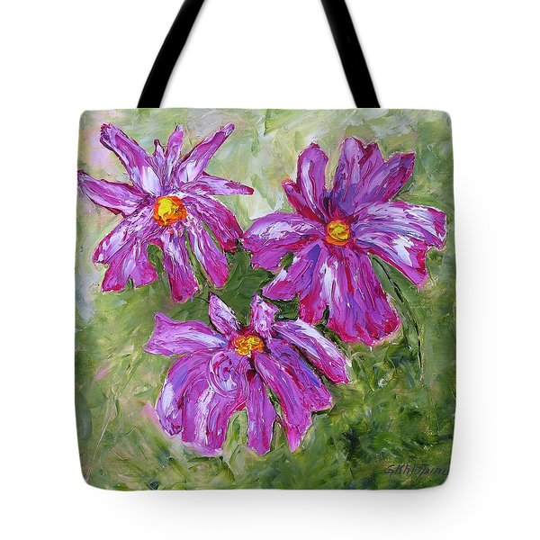 Simple Flowers Tote Bag