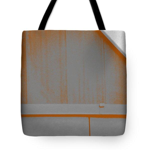 Simple Geometry - 3 Tote Bag by Lenore Senior