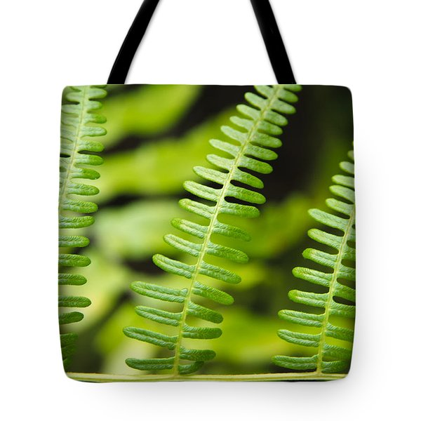 Simple Green Tote Bag by Adam Romanowicz