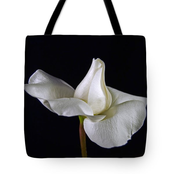 Simple In White Tote Bag