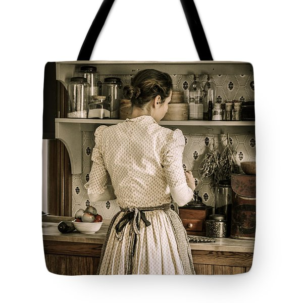 Simple Life 8 Tote Bag by Julie Palencia