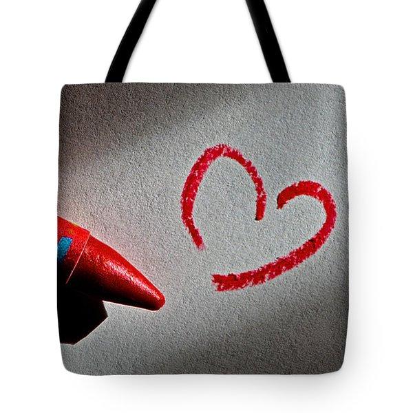 Simple Love Tote Bag by Bill Owen