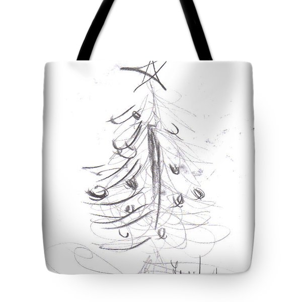 Tote Bag featuring the drawing Simple Love by Laurie Lundquist