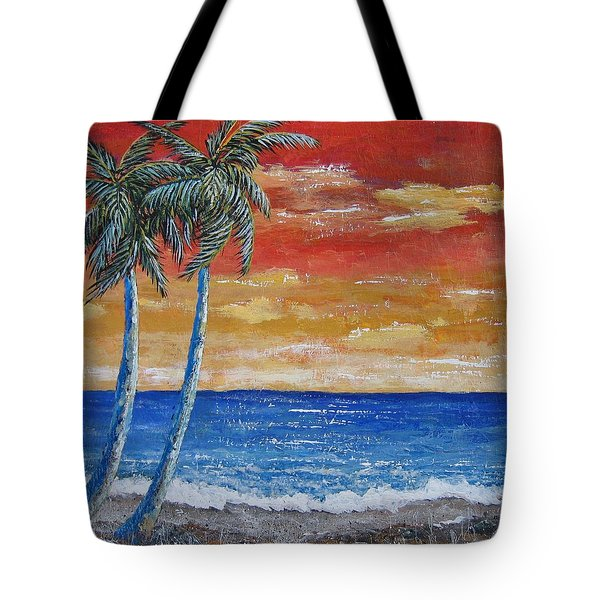 Tote Bag featuring the painting Simple Pleasure by Suzanne Theis