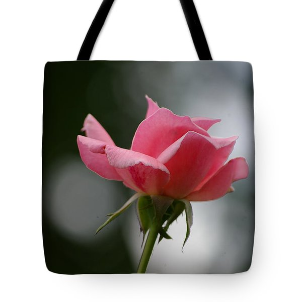 Simple Rose Tote Bag