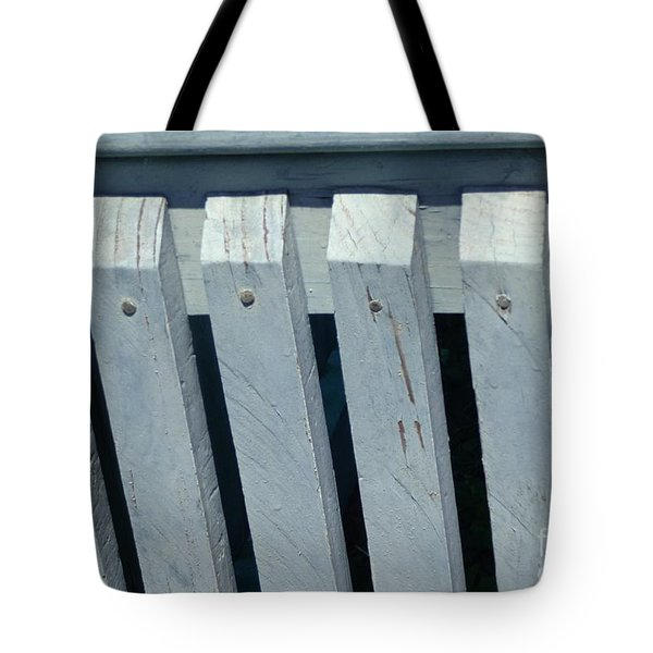 Simple Symmetry Tote Bag by Christina Verdgeline