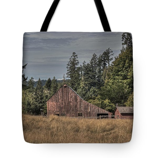 Simpler Times Tote Bag by Randy Hall