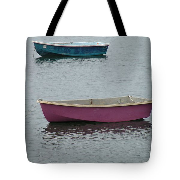 Simplicity Harbor Tote Bag