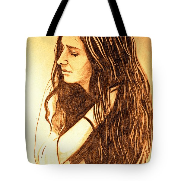 Simplicty Tote Bag by Justin Moore