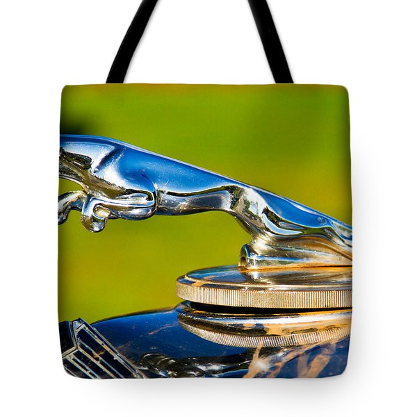 Simply Jaguar-front Emblem Tote Bag