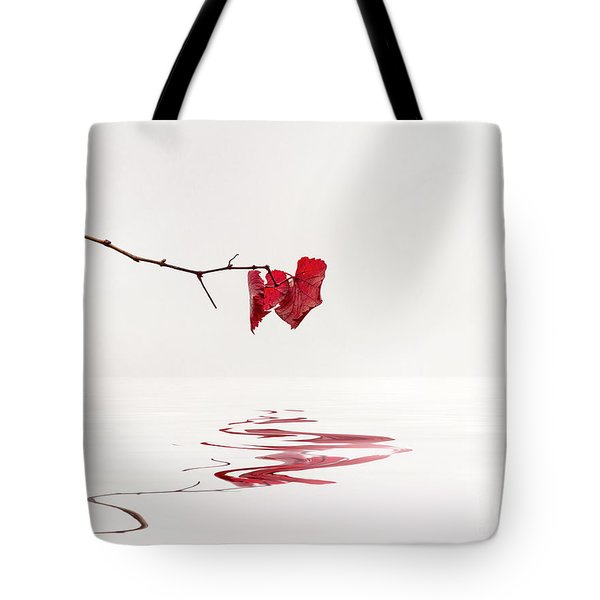 Tote Bag featuring the photograph Simply Leaves by Elaine Teague