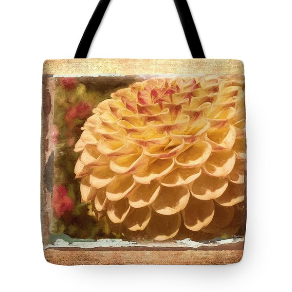 Simply Moments - Flower Art Tote Bag by Jordan Blackstone