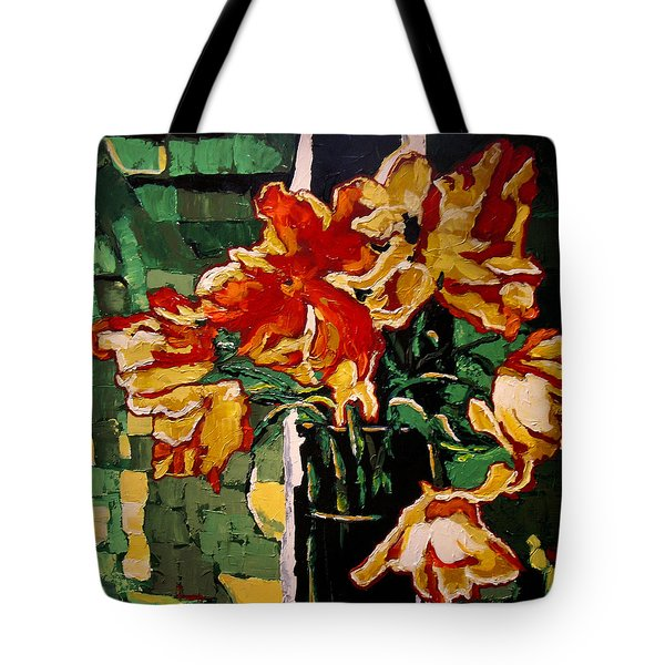 Simply Summer Tote Bag by Vickie Warner
