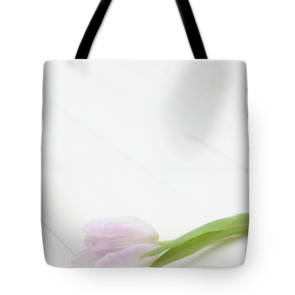 Simply Tulip Tote Bag by Anne Gilbert