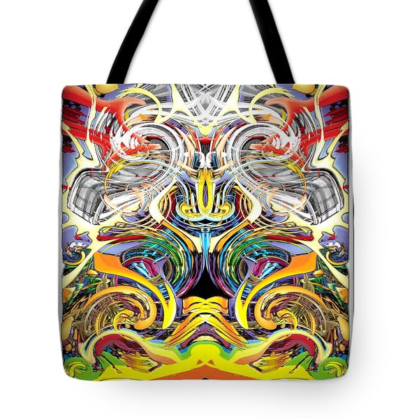 Simulated Beats B Vector 6  Tote Bag