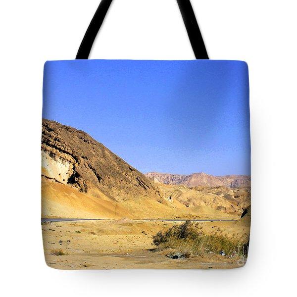 Sinai Desert  Tote Bag