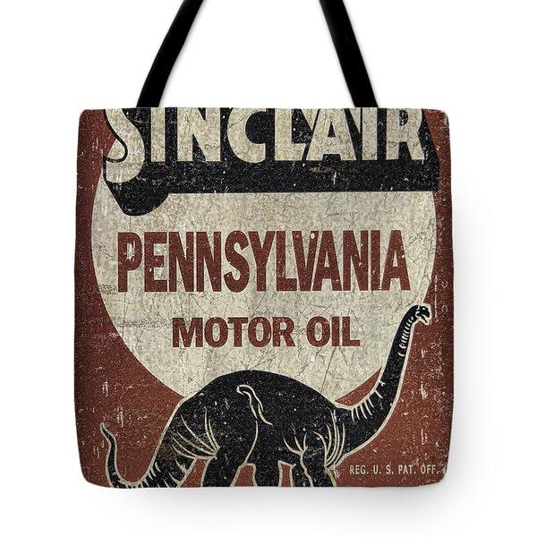 Sinclair Motor Oil Can Tote Bag