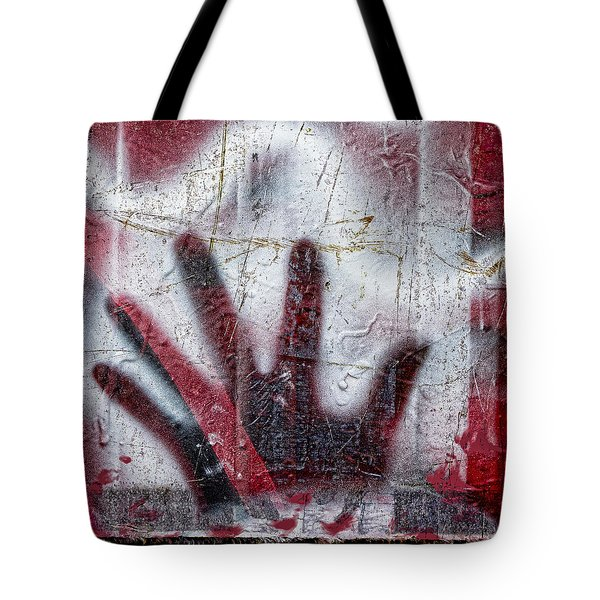 Sine Of The Wave Tote Bag by Carol Leigh