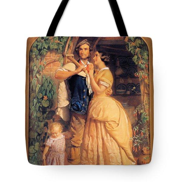 Sinews Old England Tote Bag by George Elgar Hicks