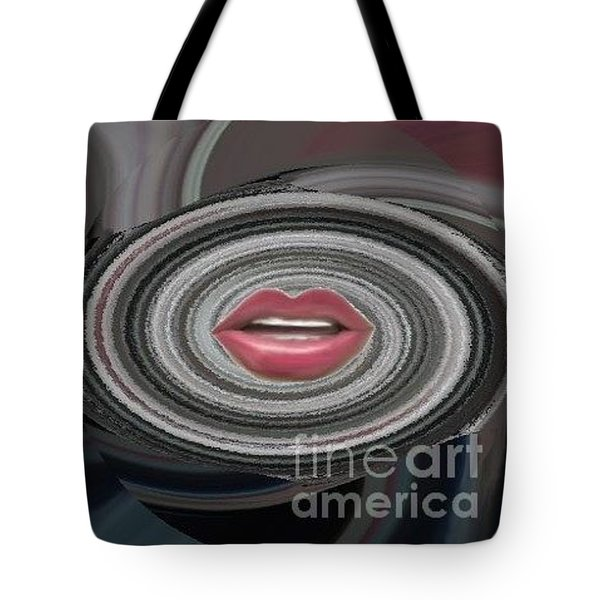 Tote Bag featuring the digital art Sing by Catherine Lott