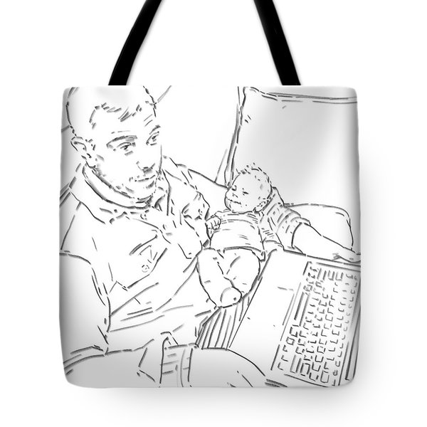 Sing Me To Sleep Daddy Tote Bag