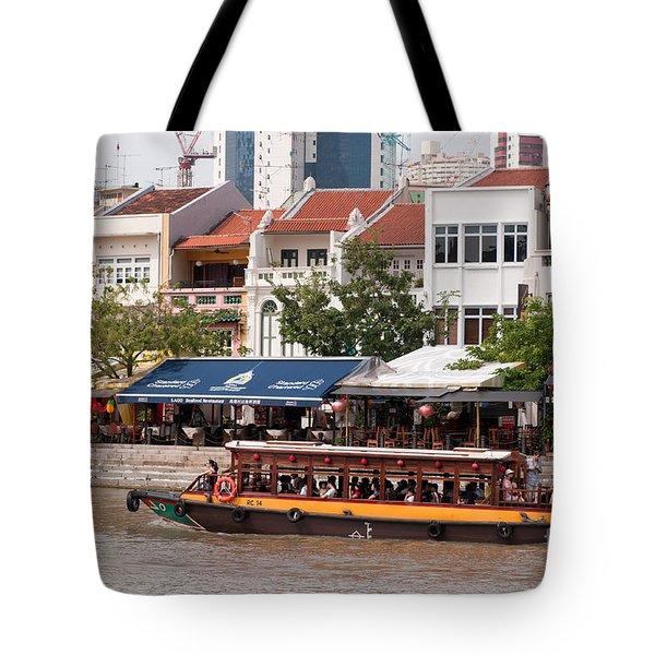 Singapore Boat Quay 04 Tote Bag