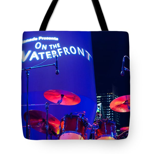 Singapore Drum Set 02 Tote Bag by Rick Piper Photography