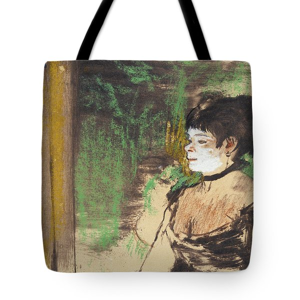Singer In A Cafe Concert Tote Bag