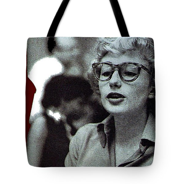 Singer Pianist Blossom Dearie  No Known Date Tote Bag