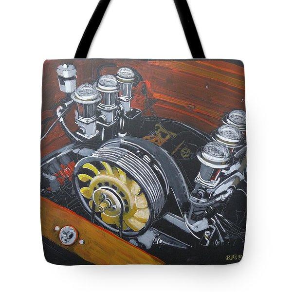Singer Porsche Engine Tote Bag