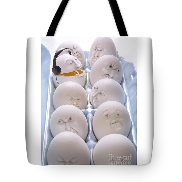 Singing Egg Tote Bag