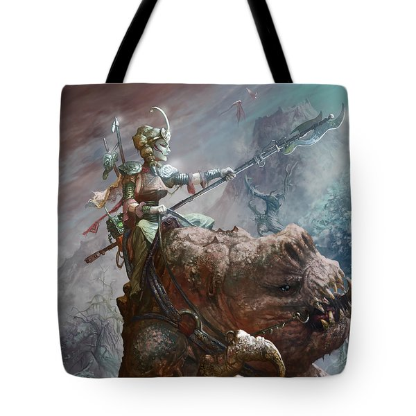 Singing Mountain Sister Tote Bag