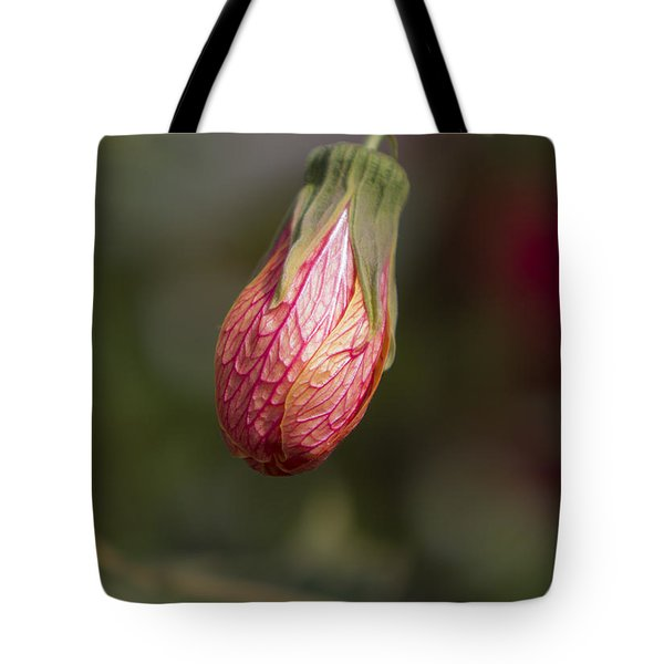 Single Bud Tote Bag