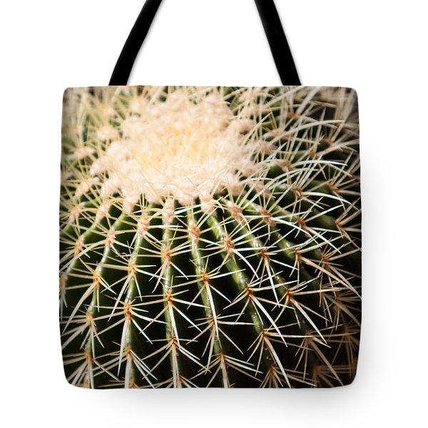 Single Cactus Ball Tote Bag