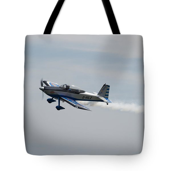 Tote Bag featuring the photograph Single Rv8tor Sunderland Air Show 2014 by Scott Lyons
