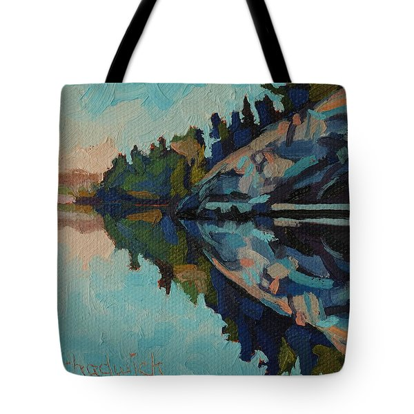 Singleton Cliffs Tote Bag by Phil Chadwick
