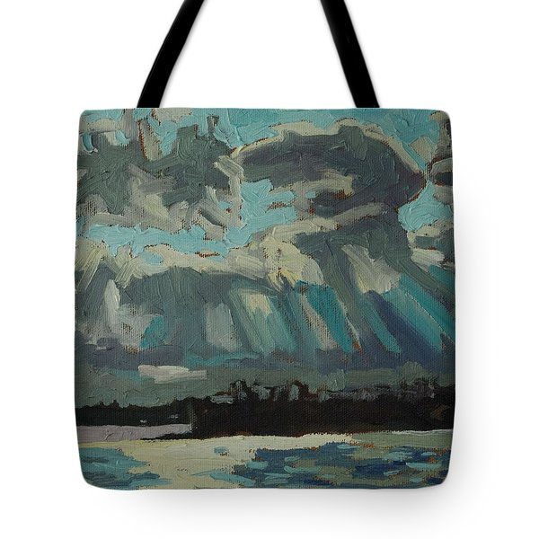 Singleton Cold Front Tote Bag by Phil Chadwick